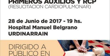 En Urdinarrain, se dictará un curso de primeros auxilios