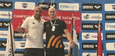 Machado y Pancrazio en el Argentino Master de Rosario