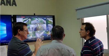 Evaluaron el funcionamiento del Centro de Control y Monitoreo