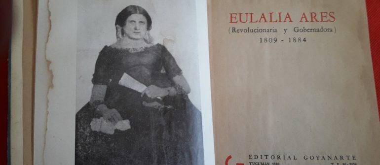 Eulalia Ares, la primera mujer en gobernar una provincia argentina