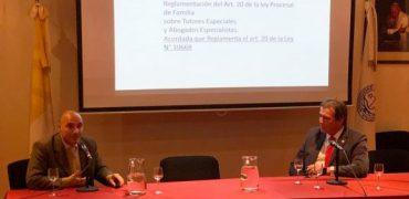 Castrillon expuso en la UCA sobre el Protocolo de Buenas Prácticas para la Escucha de Niños, Niñas y Adolescentes